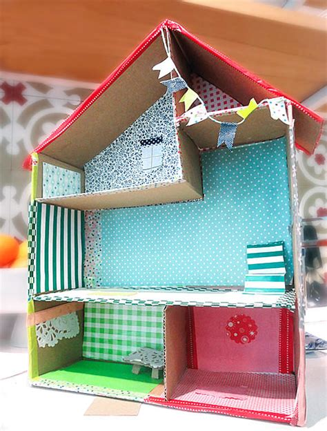 diy dollhouse 6 ways to make a cardboard dollhouse handmade