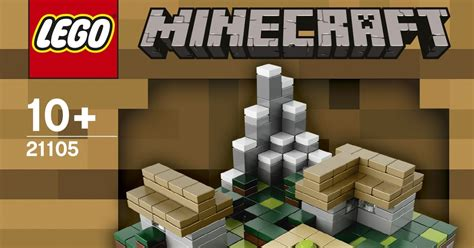 Fossil Selempang Mini 1200 Set 2 In One Lt4 the brickverse official images of the new minecraft sets
