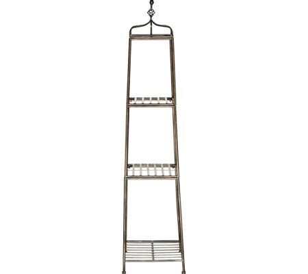 etagere decorative metal 3 tier 60 quot metal wrought iron decorative etagere page 1