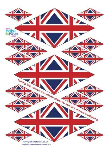 printable union jack bookmarks cupcake and drink flags cards to make pinterest home