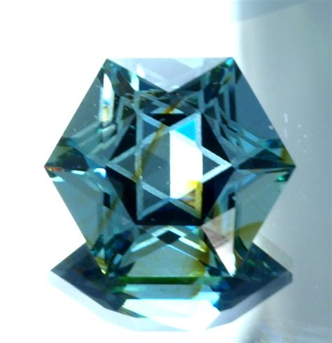 cut gemstones halo design of david