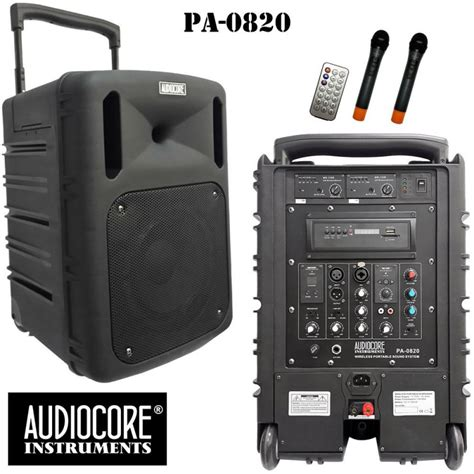 Jual Av Receiver Terbaik by Jual Speaker Audio Audiocore Pa 0820 Wireless Portable