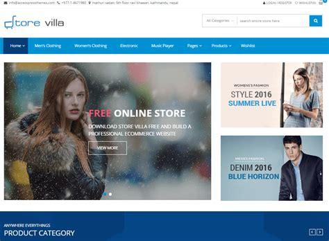 wordpress theme blog and shop 25 best free woocommerce wordpress themes 2018