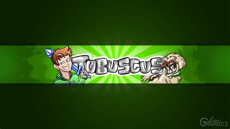 graphics design youtube banner tobuscus youtube banner official ft gryphon by