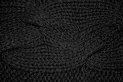 black pattern texture black cable knit pattern texture picture free photograph