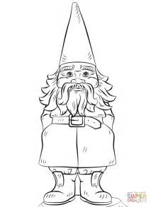 gnome coloring pages garden gnome coloring page free printable coloring pages