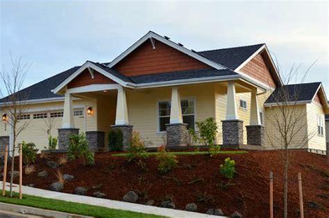 craftsman house plans carlton    designs