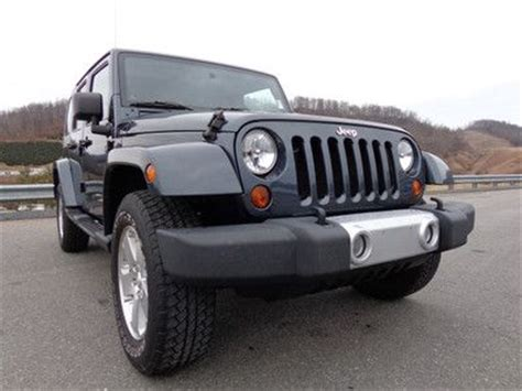 2008 Jeep Wrangler Owners Manual Find Used 2008 Jeep Wrangler Unlimited Manual Trans