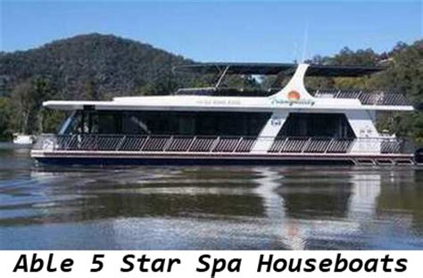 able house boats able spa houseboats able hawkesbury house boats