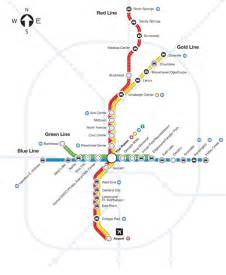 Atlanta Train Map by Hartsfield Jackson Atlanta International Airport