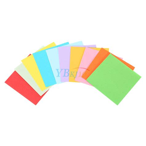 sheet origami paper 520pcs square folding lucky sheets mixed color
