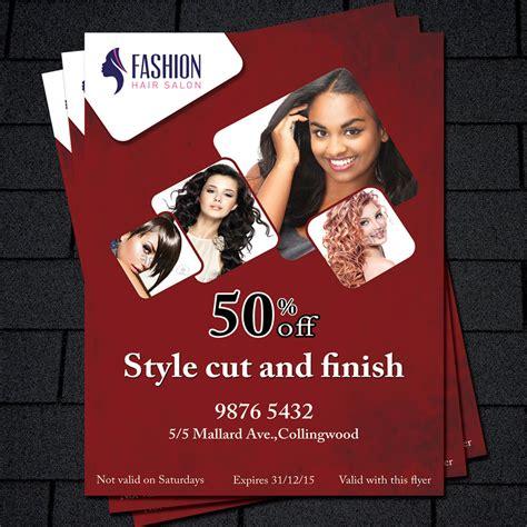 flyer templates hairdresser printable flyer template hair salon flyer beauty salon flyer