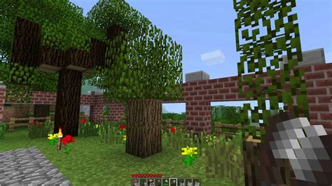 How To Make A Garden In Minecraft by Minecraft How To Make A Topiary Garden