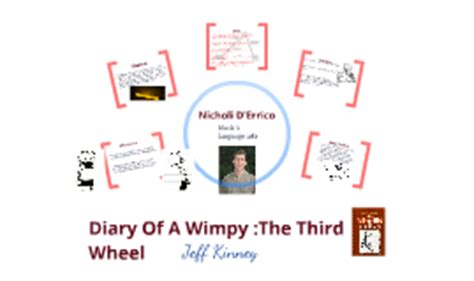 diary of a wimpy kid plot diagram diary of a wimpy kid the third wheel by nicholi d errico