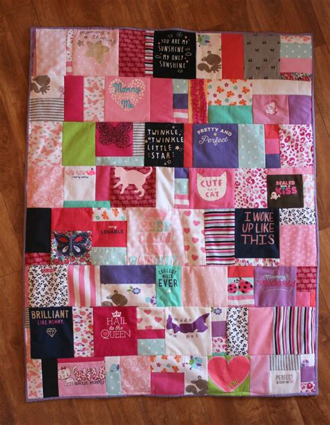 How To Make Patchwork Quilt From Baby Clothes - baby clothes memory quilt