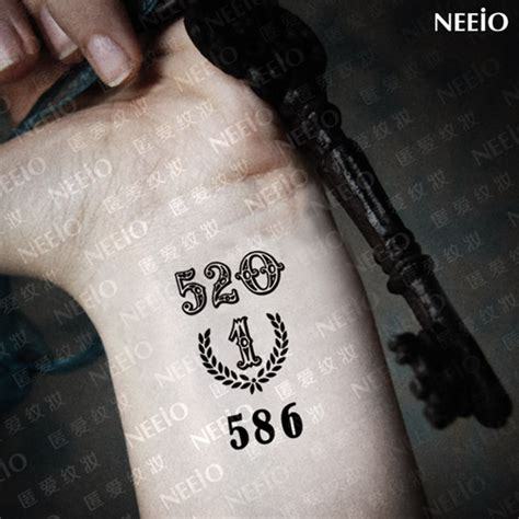 number tattoos for men 22 wrist number tattoos collection