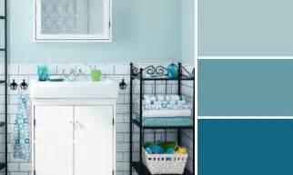 decoration salle de bain bleu chaios