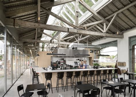 Office Space Restaurant by Shed Is Transformed Into A Gorgeous Office And