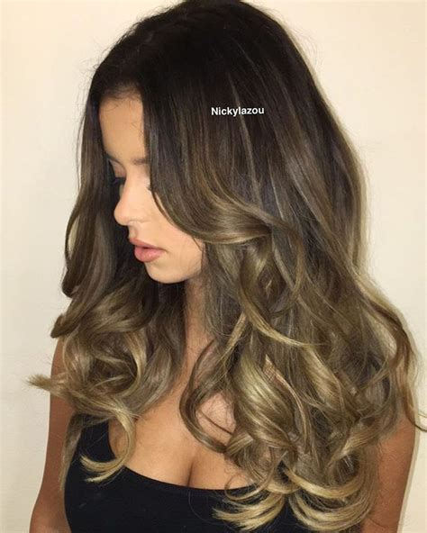 partial highlights for brunettes partial highlights on brown hair hairs picture gallery