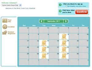 volunteer calendar template volunteer schedule template schedule template free