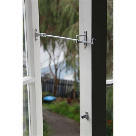 awning window stays jaeco casement window stay 355mm chrome bunnings warehouse