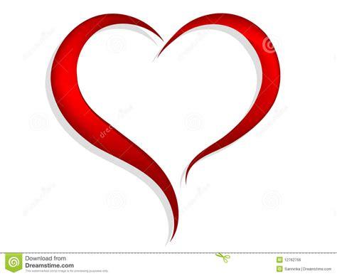 cuore clipart cuore rosso illustrazione vettoriale illustrazione di