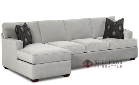 Sofa Sleeper With Chaise Customize And Personalize Lincoln Chaise Sectional Fabric Sofa By Savvy Chaise Sectional Size