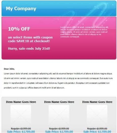 discount email template email coupon templates free mymediaget