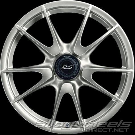 Wheels Porsche 911 Gt3 Rs Merah Miniature Mobil Hotwheels 19 quot porsche gt3 wheels in white gold metallic alloy wheels direct 2001719
