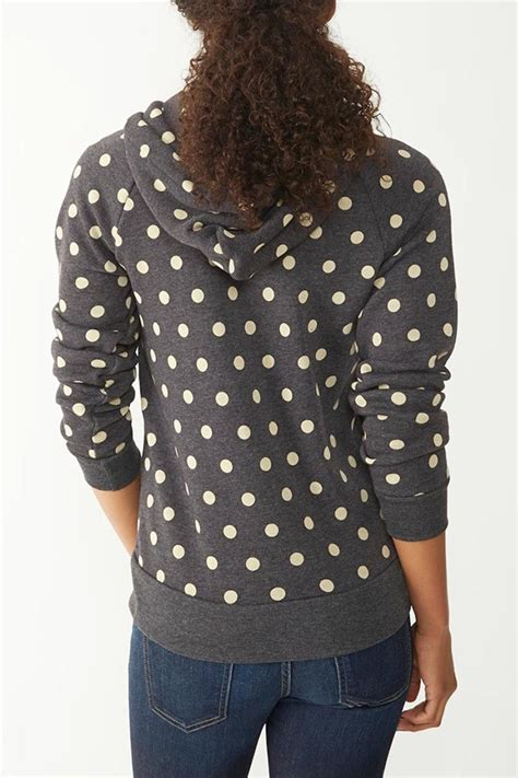 Hoodie Ziper Polkadot Bahan Fleece alternative apparel polka dot hoodie from mississippi by wilai boutique shoptiques