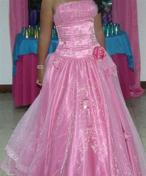 vestidos de xv rosados aquimodacom vestidos de boda vestidos vestido de 15 a 241 os rosado bs 400 000 00 en mercado libre