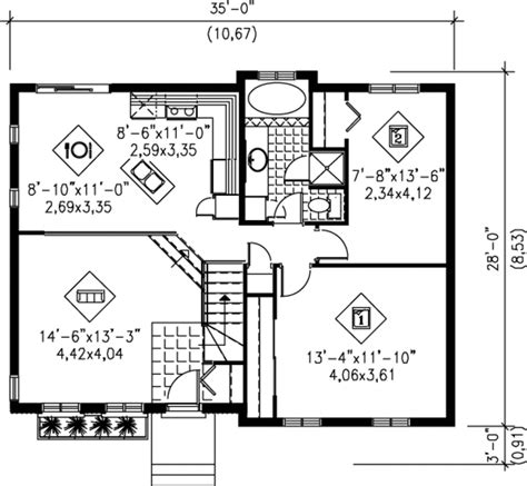 ranch style house plans 2022 square foot home 1 story ranch style house plan 2 beds 1 00 baths 934 sq ft plan
