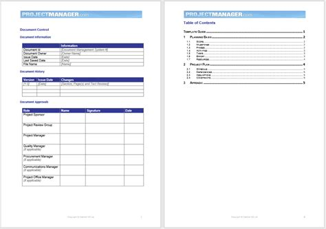 25 Free Project Plan Templates Microsoft Office Templates Free Ms Project Templates