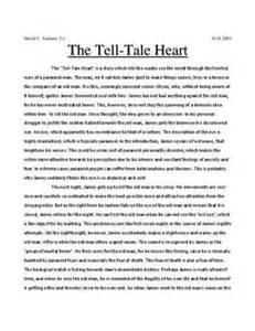 Tell Tale Essay by The Tell Tale Summary Sammanfattning Studienet Se