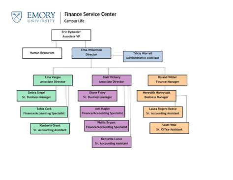 Emory Tutition Vs Tech Tuition Mba by Organizational Chart