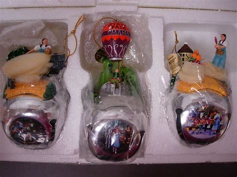 ashton drake wizard of oz sleigh bell ornament set of 3