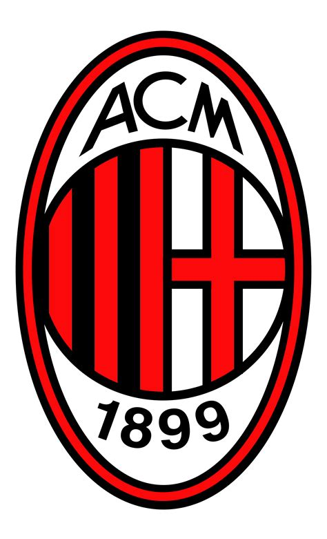 ac milan logo png transparent svg vector freebie supply