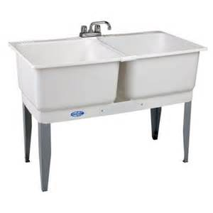 mustee 46 in x 34 in plastic laundry tub 24c the home