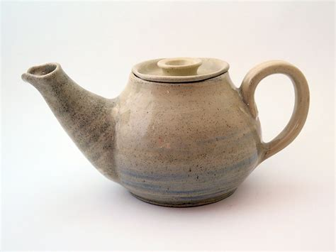 Handmade Stoneware Pottery - stoneware large pottery tea pot handmade ceramic tea pot with