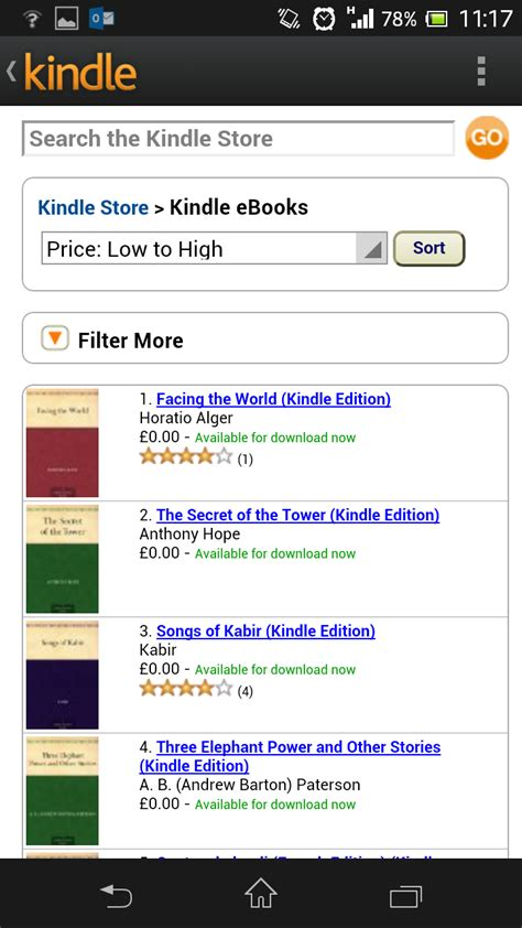 how to get free books on android how to get free kindle books on android pc advisor