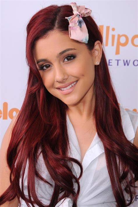 what was the best hair color on ariana grande ariana grande s hair color evolution to inspire your next