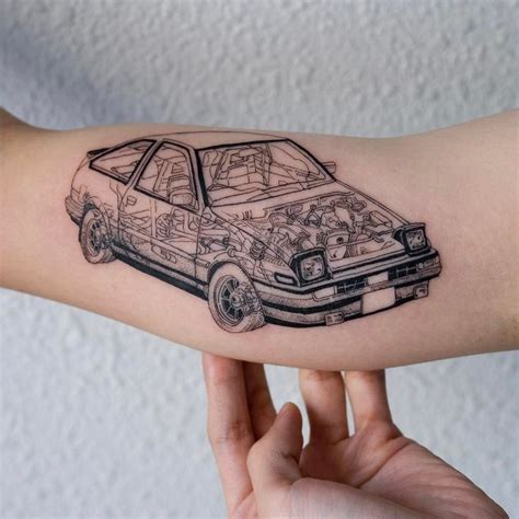 toyota tattoo oozy tatting and tatoo
