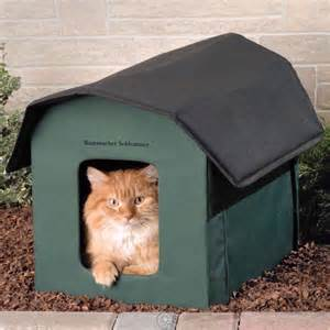 outdoor cat shelter cat house waterproof heating pad