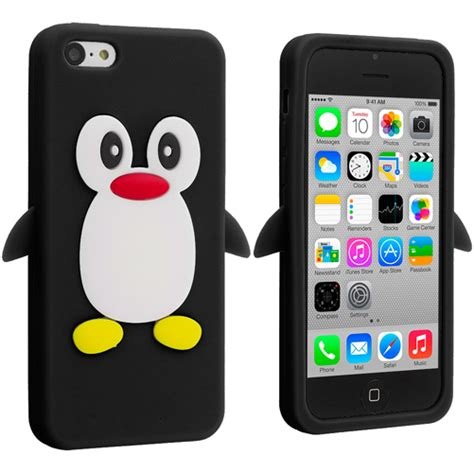 Apple Iphone 5c Soft Jelly Gel Silicon Silikon Tpu Casing for apple iphone 5c penguin silicone soft rubber