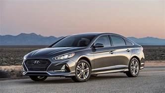 Hyundai Sontat 2018 Hyundai Sonata Unveiled At New York Auto Show