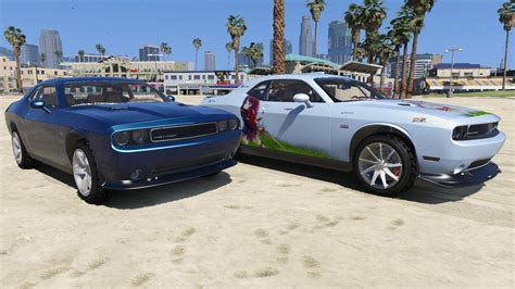 dodge challenger 2012 srt8 2012 dodge challenger srt8 392 gta5 mods