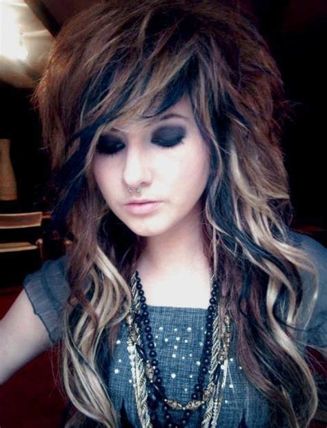 emo hairstyles for long hair latest long emo hairstyles for the girls hairzstyle com