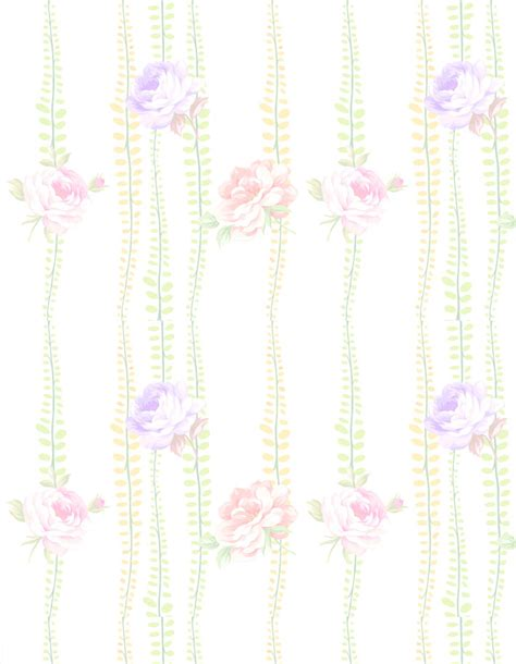 printable stationary backgrounds free flowers stationery free printable flowers background