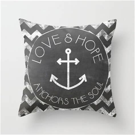 Chalkboard Love And Hope Anchors - chalkboard love and hope anchors the from society6