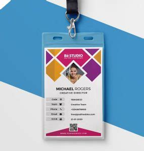 personal identification card template free f society id card psd psd